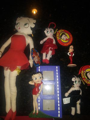Betty boop bundle x5 for Sale in Hawthorne, CA