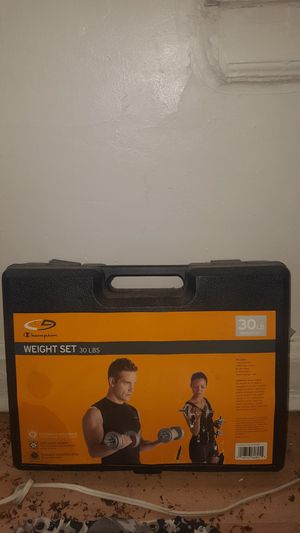 Weight set for Sale in Chicago, IL