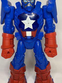 Mech Armor Captain America Robot Exoskeleton Marvel Playskool Heroes Super Adven for Sale in Fort Lauderdale,  FL