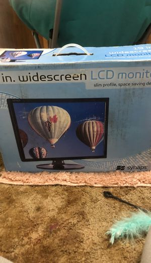 19 inch widescreen LCD monitor for Sale in Oklahoma City, OK