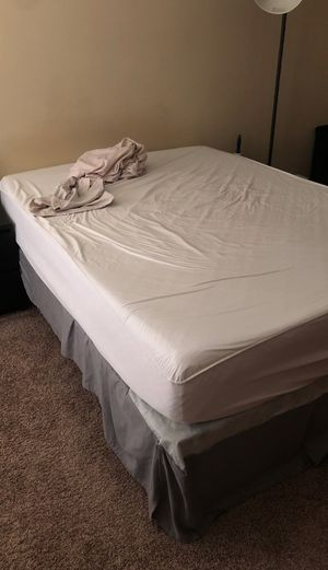Queen mattress, box spring and frame for Sale in Brentwood, TN