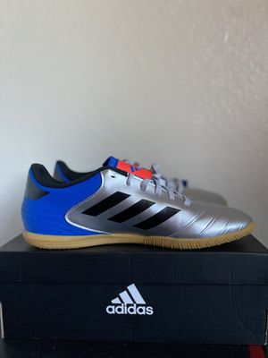 Adidas Copa Tango 18.4 'Silver Metallic blue' soccer shoes SIZE: 9.5 for Sale in Fremont, CA