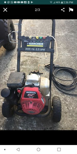 Karcher pressure washer powered by Honda. for Sale in Stanwood, WA