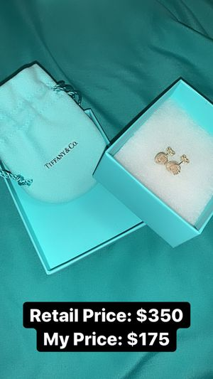 Tiffany's Sterling Silver Knot Earrings BRAND NEW !! for Sale in Cornwall, NY
