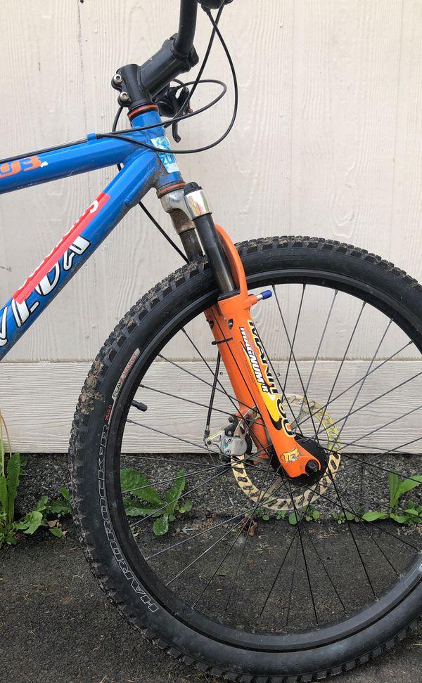 univega alpine hardtail mountain bike