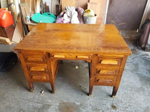 Solid wood desk for Sale in Vinton, VA