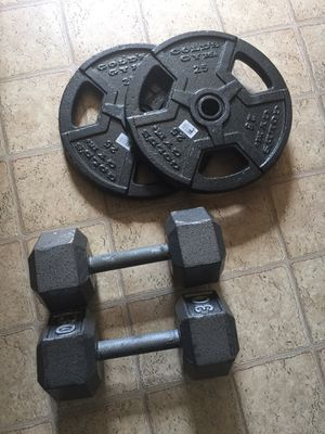 Dumb Bells And Weights for Sale in Clarksville, TN