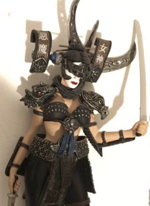 """Spawn Dark Ages Action figure Lotus, McFarlane's action figures 7"""" tall for Sale in Kirkland, WA"""