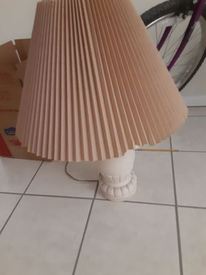 Desser, bed frame, 2 lamps for Sale in El Paso, TX
