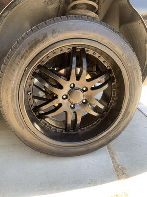 19inch Rims and tires for Sale in San Jacinto, CA