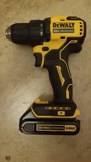 New Dewalt ATOMIC 20-Volt MAX 1/2 in. Drill/Driver (DCD708B) for Sale in Hemet, CA