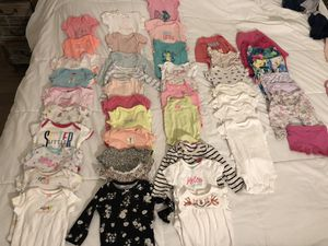 Baby girl clothing - NB to 6 months - 60 pieces for Sale in West Los Angeles, CA