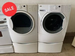 💎💎💎Delivery Available Kenmore Washer Electric Dryer Set Front Load #1436💎💎💎 for Sale in Baltimore, MD