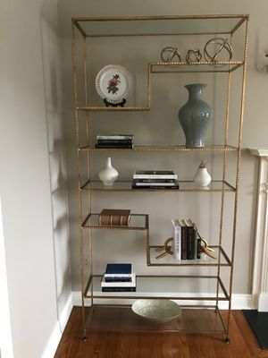 Arteriors Worchester Etagere Bookshelves for Sale in Mountainside, NJ
