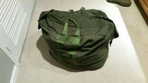 Used Duffle Bag (G.I. Plus Enhanced O.D. Aviator Kit Bags) for Sale in Springfield, VA