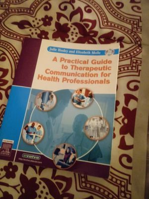 A practical Guide to Therapeutic Communication for Health Professionals for Sale in Charlotte, NC
