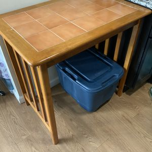"""High Wooden Table(35x23x34"""") for Sale in Sunnyvale, CA"""