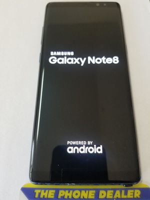 Unlocked Samsung note 8 64g Blue/Gray clean imei for Sale in San Jose, CA