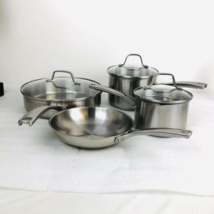 Calphalon Classic Stainless Steel 7- Piece Cookware Set Pots & Pans - 2515 for Sale in St. Charles, IL