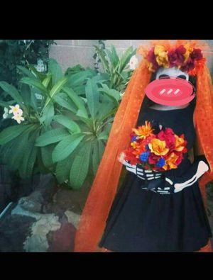 Halloween dia de los muertos bride costume. Home made for Sale in La Puente, CA