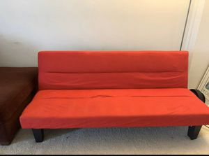 RED COMFY COUCH for Sale in Fairfax, VA