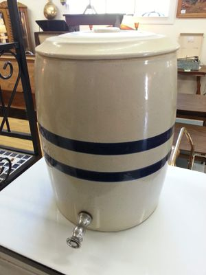 Vintage Robinson Ransbottom Pottery Co 4 Gallon Water Cooler Crock With Spout for Sale in Bechtelsville, PA