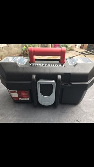 CRAFTSMAN 13-IN WIDE TOOL BOX WITH TRAY 📦 BRAND NEW ((NUEVA))$12 for Sale in Los Angeles, CA