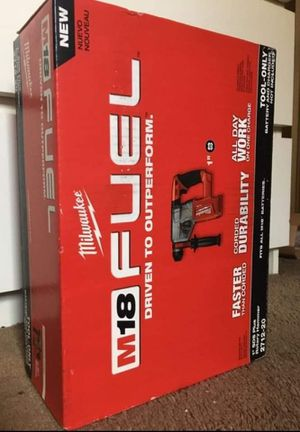 """Milwaukee New 1"""" SDS Plus ROTARY HAMMER Fuel and Brushless ( No Battery) Nuevo for Sale in Los Angeles, CA"""