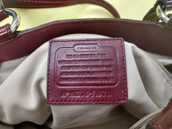 Coach purse and wallet