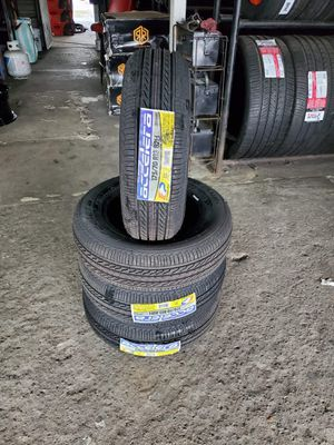 175/70/13 new tires for $250 with balance and installation we also finance {contact info removed} ask for Dorian 7637 airline dr houston TX 77037 for Sale in Houston, TX