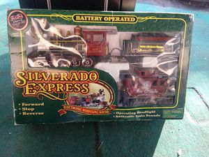 Express Silverado Train Set Battery Operated for Sale in Fort Meade, FL