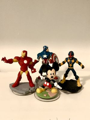 Disney infinity Mickey Mouse and marvel bundle for Sale in Norwalk, CA