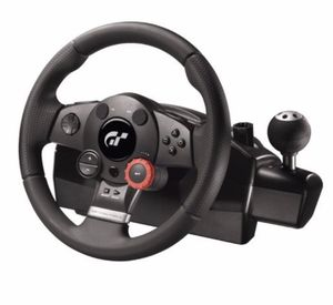 Logitech Driving Force GT Racing Wheel Pedals Gran Turismo PS2 PS3 PC for Sale in Sterling, VA