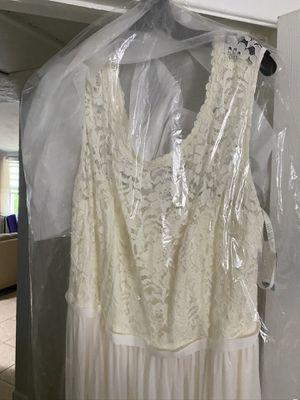 Davids bridal size 24 wedding dress for Sale in Holiday, FL