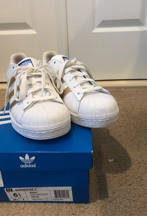 Adidas White Shell-Toe Sneakers for Sale in Washington, DC