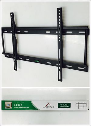 "BRAND NEW IN BOX UNIVERSAL SLIM TV WALL MOUNT FITS ANY TV 32""-65"" SUPPORT UP TO 176lbs $15 #41370 for Sale in Los Angeles, CA"