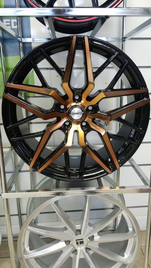 Rims & Tires cash/ finance $39 down 100 days cash price for Sale in Orlando, FL