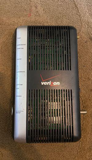 Verizon Fios actiontec mi424wr Rev E Wireless Modem Router for Sale in Alexandria, VA