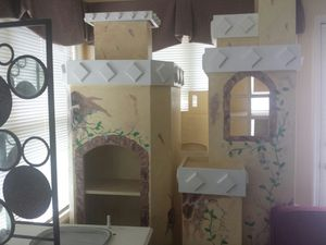 Children's castle bed/play area for Sale in Plymouth, PA