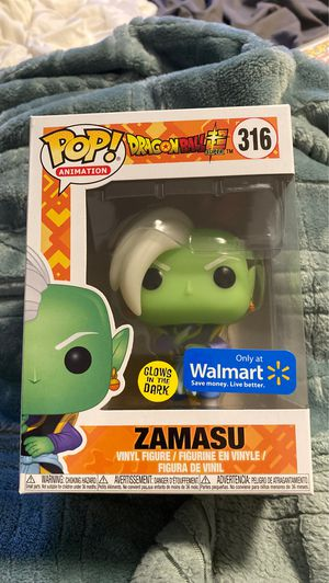 Zamasu Glow in the dark Walmart funko pop mint for Sale in San Jose, CA