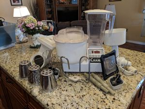 K-Tec Champ Food Processor with multiple attachments. for Sale in Gilbert, AZ