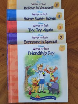 Disney's Winnie The Pooh Book Collection-Hardback for Sale in Gresham,  OR