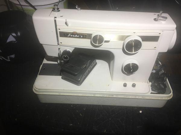 Joske's sewing machine