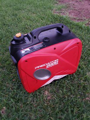 PREDATOR 2000 Watt Super Quiet Inverter Generator for Sale in San Antonio, TX