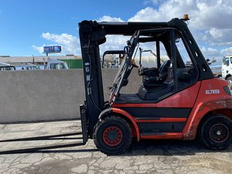2014 Linde 13,000lbs 2 Stage 96 Inch Forks Diesel Engine Forklift for Sale in Montebello,  CA