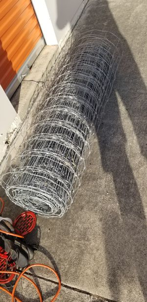 Galvanized Fence Wire for Sale in San Antonio, TX