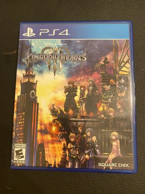 Kingdom hearts 3 PlayStation 4. Comes with case and is in perfect condition. Check out other listings for more games and DVDs. Will combine shipping for Sale in Homestead, FL