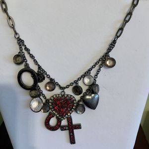 Betsey Johnson layer necklace rare for Sale in Escondido, CA