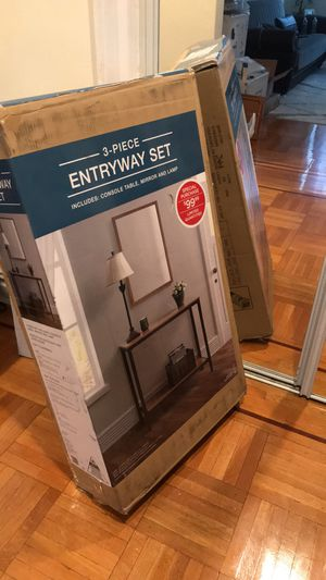 3 piece entry way set for Sale in Brooklyn, NY