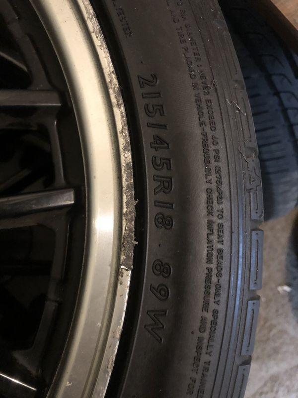 Rims an tires
